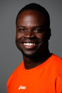Akwasi Frimpong Dutch Olympic bobsled team member